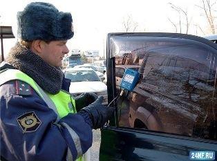 В Москве пройдет рейд по борьбе с тонировкой
