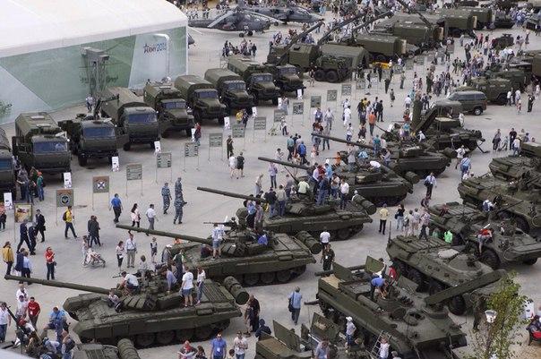 Международный военно-технический форум Армия-2015 ПАРК ПАТРИОТ