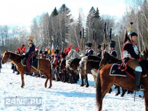 Военно-историческая реконструкция событий Отечественной войны 1812 года в Апрелевке 27 февраля