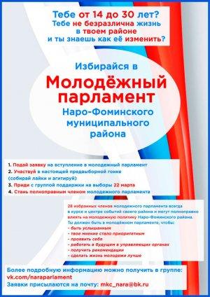 Молодежный парламент Наро-Фоминского района