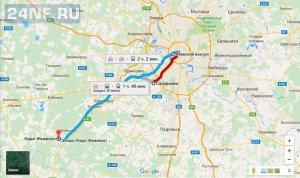 Метро Саларьево. Расписание автобусов, элекричек. Как добраться показано на карте