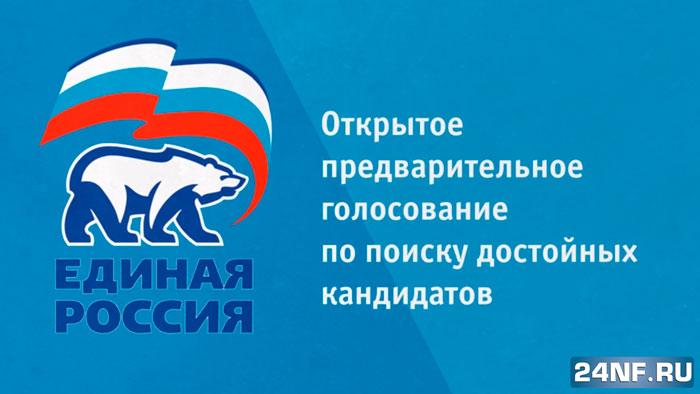 Предварительное голосование Единой России 22 мая
