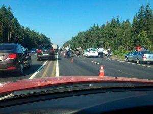 В ДТП на Минском шоссе погибли три человека