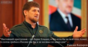 Рамзан Кадыров нашёл автора неприятного комментария в посте губернатора Московской области Андрея Воробьёва