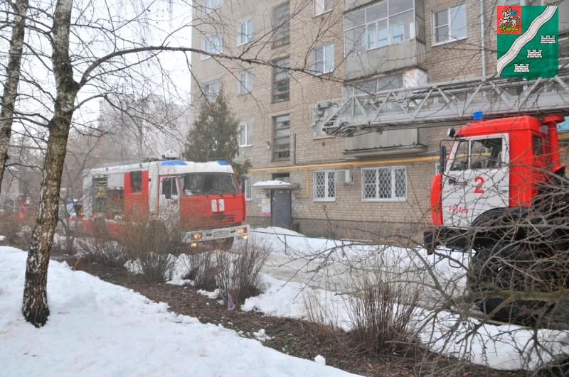 Сводка о пожарах в Наро-Фоминском районе
