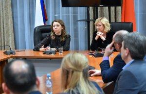 Встреча с руководителями областных информагентств прошла в Доме правительства Подмосковья
