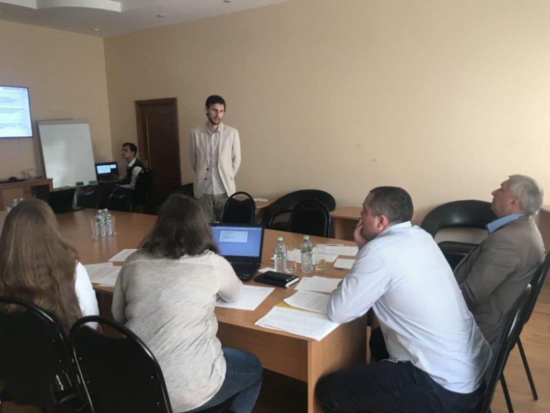 Волонтеры Московской области защищают свои проекты, поданные на конкурс «Доброволец России»