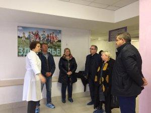 Олег Рожнов посетил с контрольными мероприятиями Апрелевку