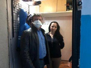 Олег Рожнов помог продуктами двум семьям, оказавшимся в сложной жизненной ситуации