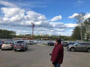 Олег Рожнов посетил с контрольным мероприятием стройплощадку школы на 825 мест