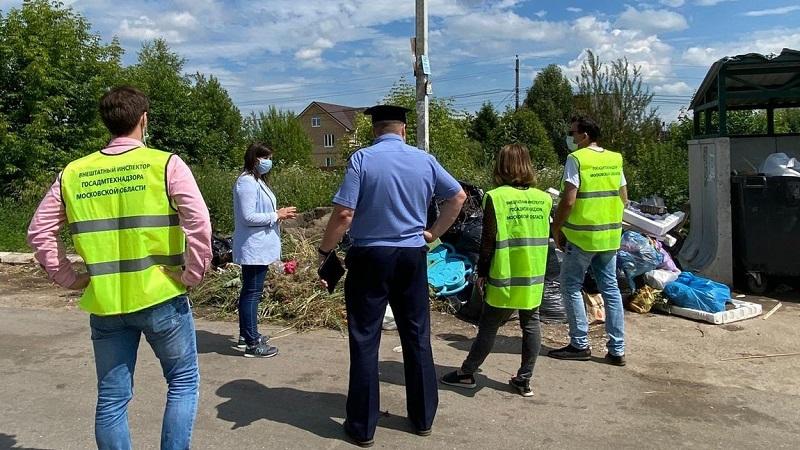 Рейды «Чистая контейнерная площадка для отходов» проходят в Наро-Фоминске
